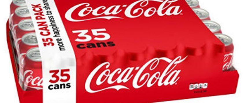 Coca -Cola 12 oz, 35 Can Pack