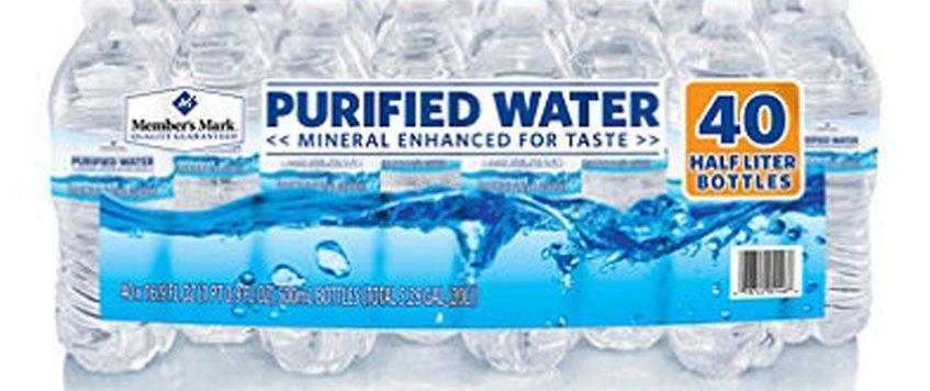 Pure Drinking Bottle Water 32 oz